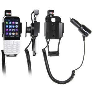Brodit držák do auta na Nokia 225 bez pouzdra, s nabíjením z cig. zapalovače