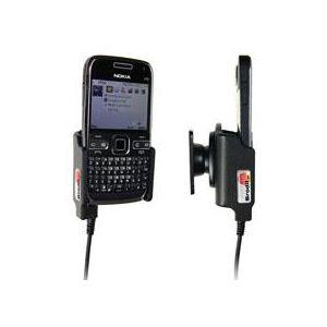 Brodit držák do auta na Nokia E72 bez pouzdra, s nabíjením z cig. zapalovače