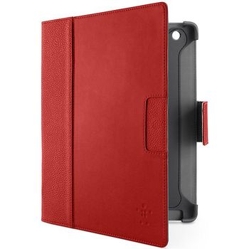 Belkin iPad 3 pouzdro Cinema Leather Folio, červená (F8N756cwC01)