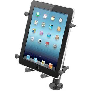 """RAM Mounts univerzální držák na tablet 9"""" až 10,1"""" do auta na palubní desku, skútr, atd. na šroubky nebo vruty, AMPS, X-Grip, sestava RAM-B-101-C-UN9U"""