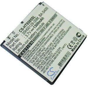 Baterie (ekv. BA-S400) pro HTC HD2 Leo, Li-ion 3,7V 1300mAh