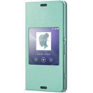 Sony flipové pouzdro Style Cover SCR24 pro Xperia Z3, zelená