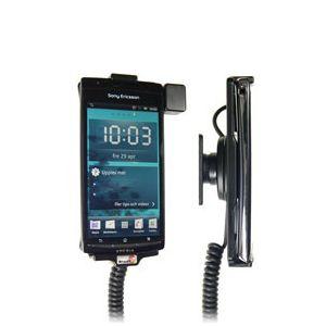 Brodit držák do auta na Sony Ericsson Xperia ARC/ARC S bez pouzdra, s nabíjením z cig. zapalovače