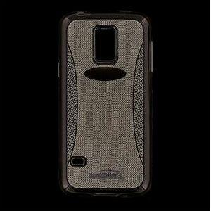 Kisswill TPU Shine pouzdro pro Samsung G800 Galaxy S5mini, šedé