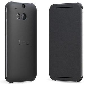 HTC flipové pouzdro HC V941 pro HTC One (M8), šedé