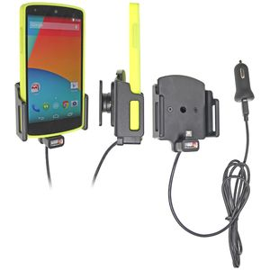 Brodit držák do auta na LG Nexus 5 v pouzdru, s nabíjením z cig. zapalovače/USB