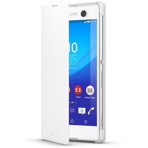 Sony flipové pouzdro SCR48 pro Xperia M5, bílé