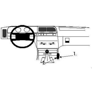 Brodit ProClip montážní konzole pro Citroen Xantia 93-97, střed. tunel