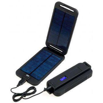 Powermonkey eXtreme (černá) - solární outdoorová záložní nabíječka 9000mAh