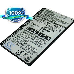 Baterie pro LG GT350 Town KM555, Li-ion 3,7V 950mAh