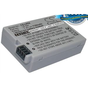 Baterie (ekv. LP-E8) pro Canon EOS 550D, 600D, Li-ion 7,4V 1120mAh
