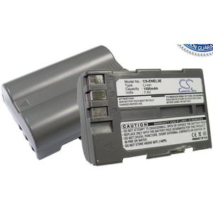 Baterie (ekv. EN-EL3e) pro Nikon D300, D50, D70, D700, D80, D90, D700, Li-ion 7,4V 1500mAh