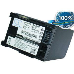 Baterie BP-827 pro Canon HG20, HG21, HF11, 2600mAh