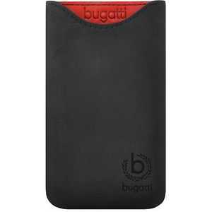 Bugatti Skinny Universal leather case 2ML, černá