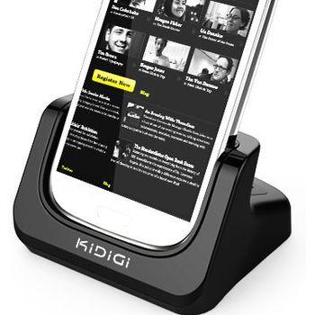 Kidigi dobíjecí a synchronizační kolébka pro Samsung Galaxy S III (i9300) +slot pro náhradní baterii