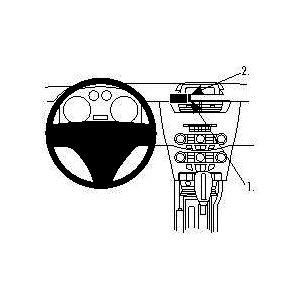 Brodit ProClip montážní konzole pro Ford Focus 08-11 (pro USA), na střed