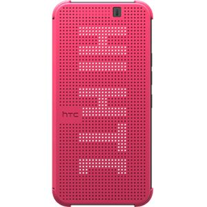 HTC flipové pouzdro Dot View HC M231 pro HTC One M9, růžové