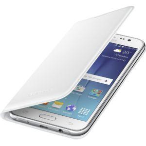 Samsung flipové pouzdro pro Galaxy J3, bílé