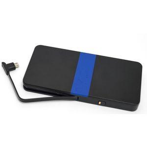 Tylt záložní baterie 5200 mAh energi 5K s microUSB konektorem, černo-modrá