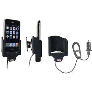 Brodit držák do auta na Apple iPhone 3G/3Gs bez pouzdra s nabíjením s cig. zapalovače USB samet