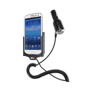 Brodit držák do auta pro Samsung Galaxy S III i9300 s nabíjením z cig. zapalovače