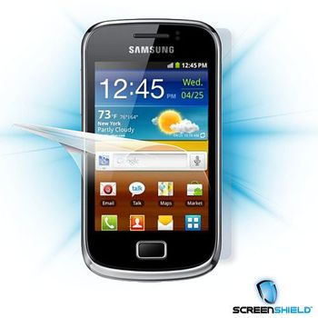 Flie ScreenShield Samsung Galaxy Mini 2 S6500 - cel tlo