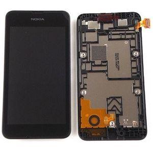 Náhradní díl dotyková deska + LCD displej+ přední kryt pro Nokia Lumia 530
