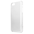 Xqisit iPlate glossy pouzdro pro iPhone 5C iPlate transparent