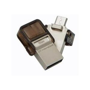 Kingston DataTraveler microDuo 64GB flashdisk, USB 2.0 + micro USB OTG