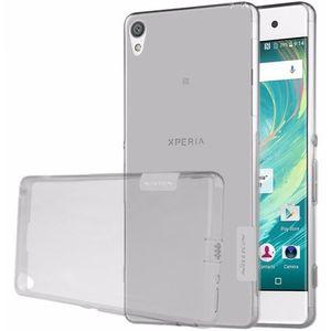 Nillkin pouzdro Nature TPU pro Sony Xperia XA Ultra, šedé