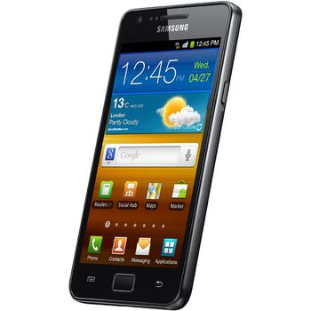 Samsung Galaxy S II + Solrn nabjeka Powermonkey-eXplorer