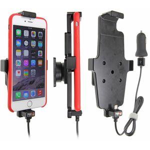 Brodit držák do auta na Apple iPhone 6/6S/7 Plus v pouzdru, s pružinou, s nab. z CL/USB