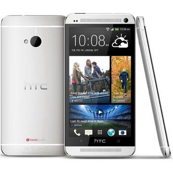 HTC One 32GB, stříbrný