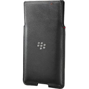 Blackberry kožené pouzdro pro Blackberry Priv, černé