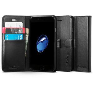 Spigen flipové pouzdro Wallet S pro iPhone 7, černá