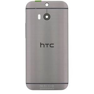 HTC zadní kryt pro ONE M8, kovově šedý