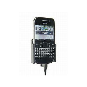 Brodit držák do auta na Nokia E6-00 bez pouzdra, s nabíjením z cig. zapalovače