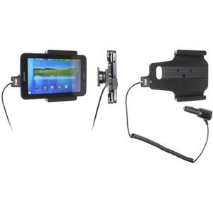 Brodit držák do auta na Samsung Galaxy Tab 3 Lite 7.0 bez pouzdra, s nabíjením z cig. zapalovače