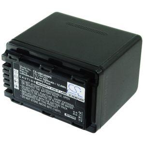 Baterie pro Panasonic VW-VBK360, 3400mAh, Li-ion