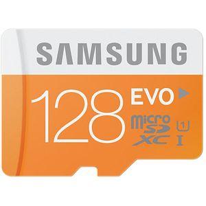 Samsung micro SDXC 128GB Class 10 Evo paměťová karta + SD adaptér