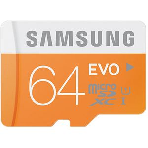 Samsung micro SDXC 64GB Class 10 UHS-I Evo paměťová karta + SD adaptér