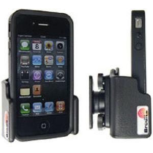 Brodit držák do auta na Apple iPhone 4S/4 v pouzdru, (mimo bumper) nastavitelný , bez nabíjení
