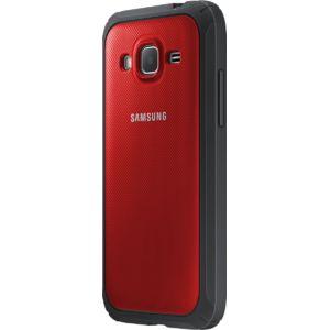 Samsung ochranný kryt EF-PG360BR pro Galaxy Core Prime, červený