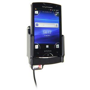 Brodit držák do auta na Sony Ericsson Xperia mini bez pouzdra, s nabíjením z cig. zapalovače