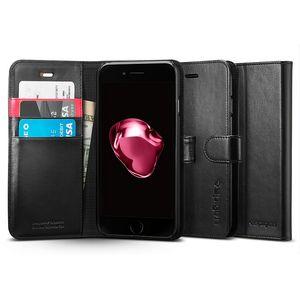 Spigen flipové pouzdro Wallet S pro iPhone 7 plus, černá