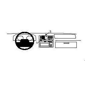 Brodit ProClip montážní konzole pro Toyota HiAce 96-12