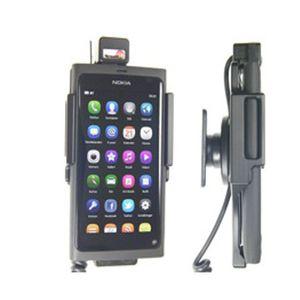 Brodit držák do auta na Nokia N9/Lumia 800 v orig. pouzdru, se skrytým nabíjením