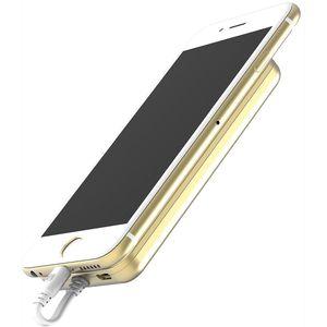 Scosche MagicMount záložní baterie s magnetickým přichycením s Lightning konektorem, 4000mAh, zlatá