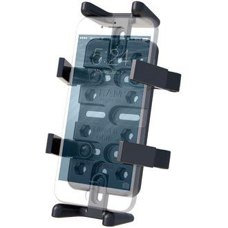 RAM Mounts univerzální držák na mobilní telefony, vysílačky, GPS navigace Finger-Grip, RAM-HOL-UN4U