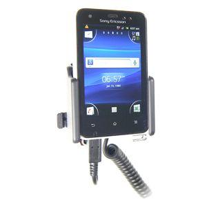 Brodit držák do auta na Sony Ericsson Xperia Active bez pouzdra, s nabíjením z cig. zapalovače